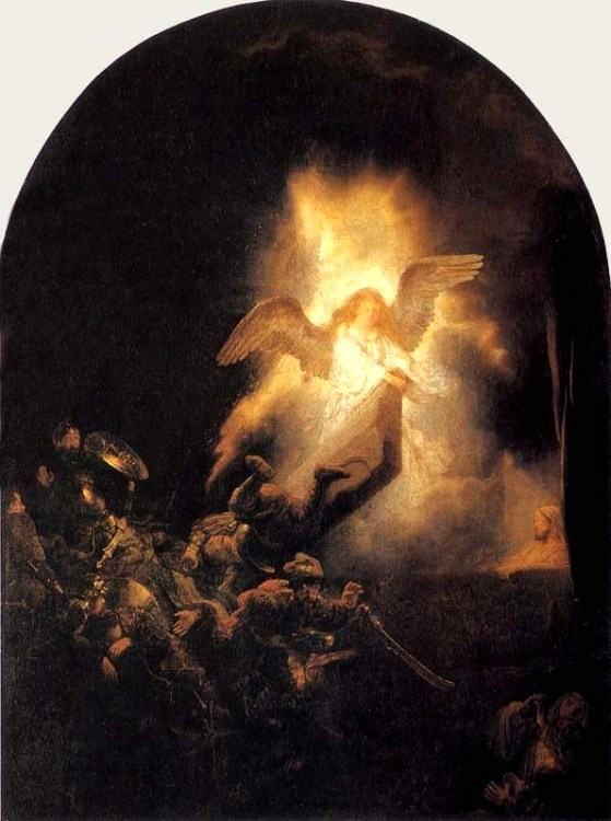 The Resurrection, Rembrandt, 1635