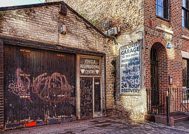 What is lurking in this garage? Hidden treasure?