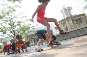 LeapFrog! Photo: Chicago's NorthShore Conventions and Visitors Bureau (Creative Commons Flickr)