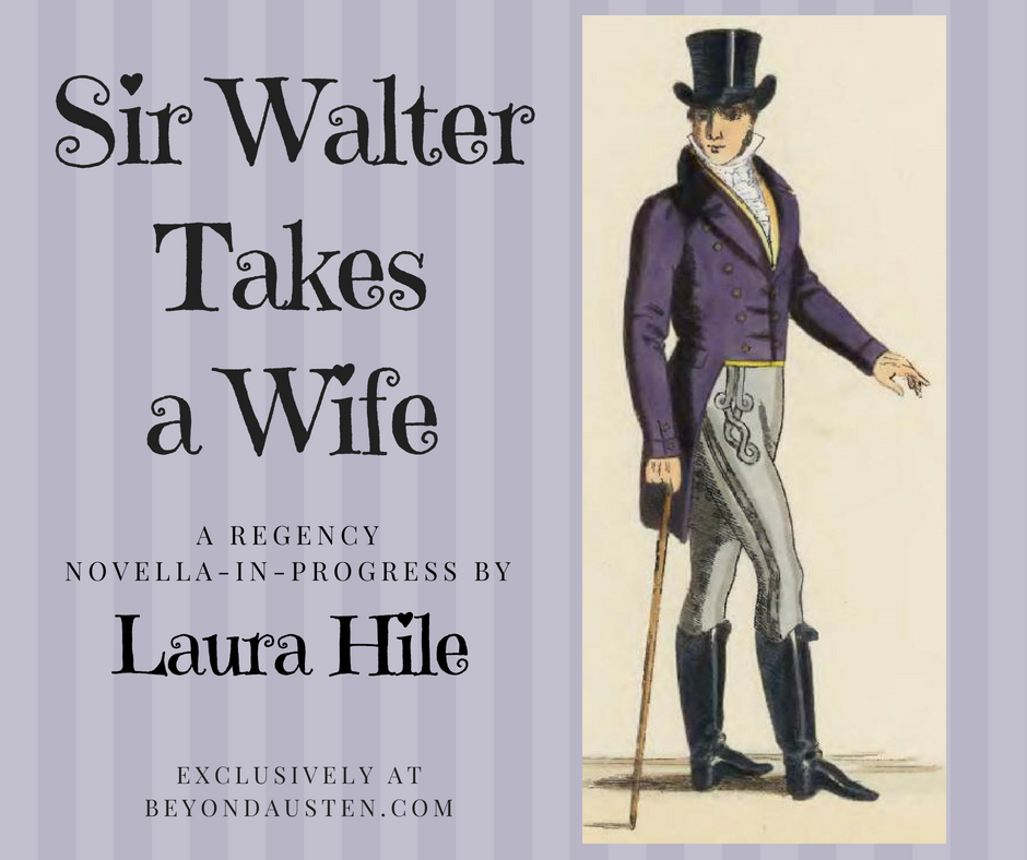 Sir Walter Takes a Wife